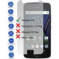 Protector de Pantalla Cristal Templado Vidrio Premium para Motorola Moto G5S 5.2 - Todotumovil