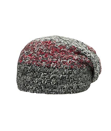 Döll Bohomütze Strick, Bonnet Fille Nero (caviar 1010)