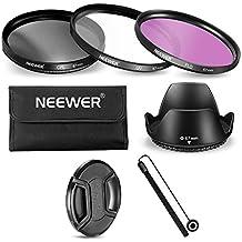 Neewer - Kit Filtri e Accessori per Canon Nikon Sony Samsung Fujifilm Pentax e altre Fotocamere DSLR con Filettatura 67mm