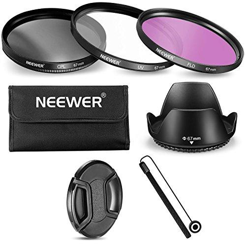 1ba2ef4310 Neewer® 67mm Kit de Lentes Filtros Profesional Para Canon Nikon Sony  Samsung Fujifilm Pentax y