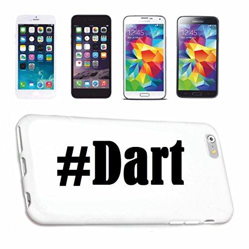 Handyhülle Samsung S5 Galaxy Hashtag ... #Dart ... im Social Network Design Hardcase Schutzhülle Handycover Smart Cover für Samsung Galaxy Smartphone … in Weiß … Schlank und schön, das ist unser HardCase. Das Case wird mit einem Klick auf deinem Smartphone befestigt (Smart Darts)