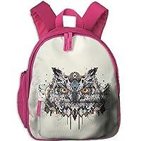 Magical Owl Toddler Kids Pre School Bag Cute 3D Print Children School Backpack