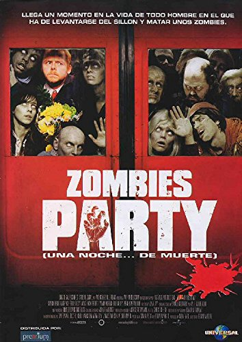 Zombies party (Shaun of the dead) [Blu-ray] 51U6EhvSgqL
