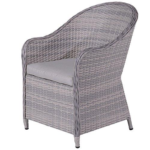 Garden Impressions Lounge Sessel, Poly Rattan Gartenstuhl, Ideale Sitzplatz  Erweiterung  Design