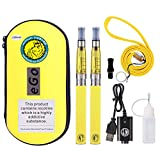 WOLFTEETH 2 Pack CE4 E Cigarette Starter Kit | Rechargeable 1100mAh | CE4