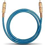 Oehlbach  10703 NF 113 Câble numérique 3m Bleu/Transparent