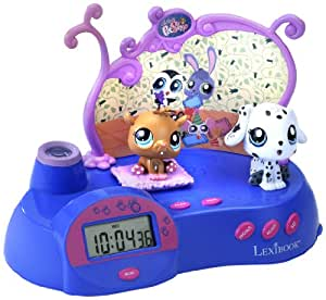 lexibook littlest pet shop radio clock projector toys games. Black Bedroom Furniture Sets. Home Design Ideas