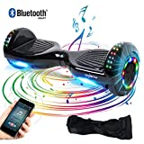 BEBK Hoverboard 6.5' Smart Self Balance Scooter, Overboard con LED...