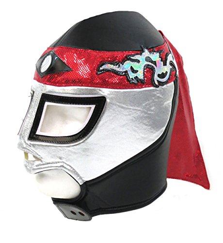 Octagon Premium Erwachsene Lucha Libre Wrestling Maske (Fit) Kostüm - Lucha Libre Kostüm