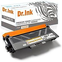 Dr. De tinta TN3380cartucho de tóner negro Compatible para Brother DCP-8250DN HL-6180DW MFC-8950DWT DCP-8110DN HL-5440D HL-5450DNT HL-5470DW MFC-8510DN MFC-8520DN (–8000páginas de alta capacidad @ 5% coverA, color negro TN3380