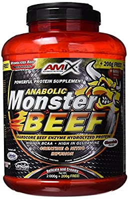 Amix Anabolic Monster BEEF 90 Percent Protein Food Supplement Beef Albumin by Amix