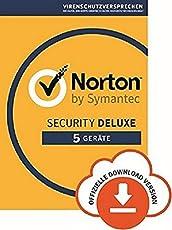 Norton Security Deluxe 2018 | 5 Geräte | PC/Mac/iOS/Android |Kostenlos testen
