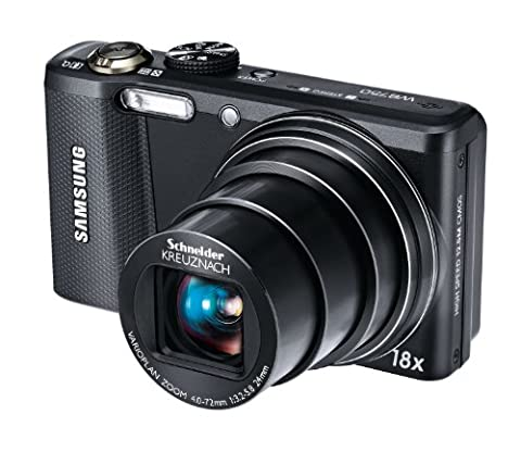 Samsung WB750 Digitalkamera (12,5 Megapixel, 18-fach opt. Zoom, 7,6 cm (3 Zoll) Display)