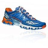 La Sportiva Bushido Woman, Zapatillas de Trail Running para Mujer, Multicolor (Marine Blue/Lily Orange 000), 40.5 EU