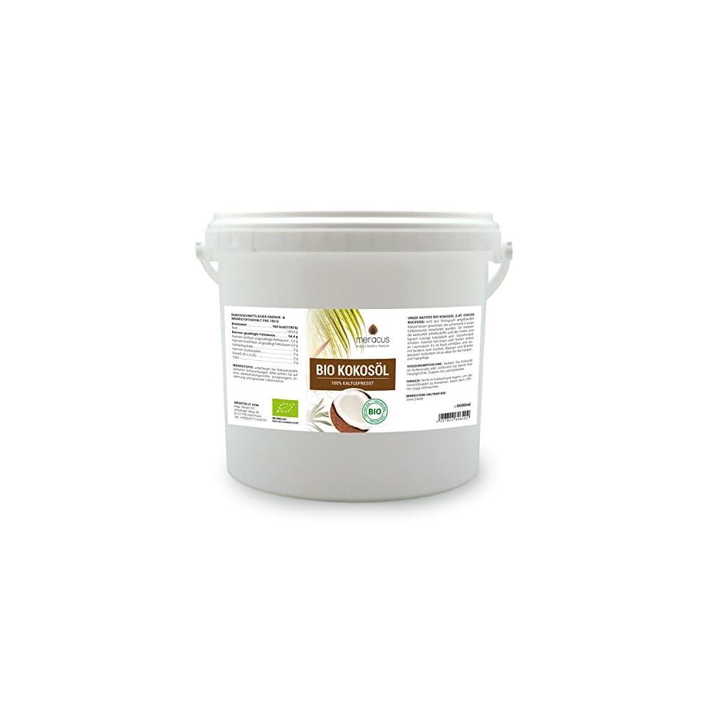 Meracus Bio Kokosl Nativ Im Eimer 1er Pack 1 X 5 L