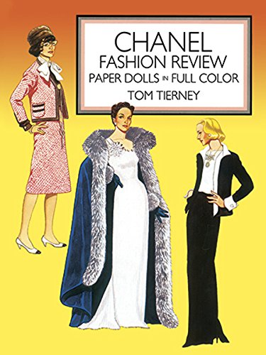 Chanel Fashion Review: Paper Dolls in Full Color: Paper Dolls in Color (Dover Paper Dolls) (Chanel Kinder Kostüm)