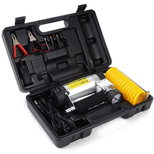 BYSK Affichage Mécanique De Pompe De Compresseur d'air (12V180w) Urgence De Surveillance De Pression De Pneu De Voiture Multifonctionnelle