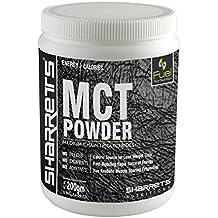 Sharrets MCT Oil Powder [Keto diet supplement,sports supplement, mct coconut, MCT oil Medium Chain Triglycerides, sports energy drink powder ]0.44 lbs / 200 gram, Non GMO GLUTEN FREE,UNFLAVORED