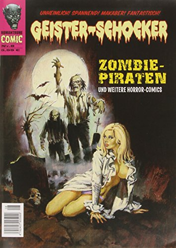 Geister-Schocker - Zombie-Piraten, m. Audio-CD