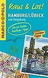 MARCO POLO Raus & Los! Hamburg, Lübeck und Umgebung: Guide und große Erlebnis-Karte in praktischer Schutzhülle -