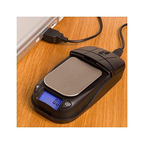 Preisvergleich Produktbild Mouse 500 - Digitalwaage - 500 x 0, 1g - voll funkitonsfähige Maus - über USB aufladbar