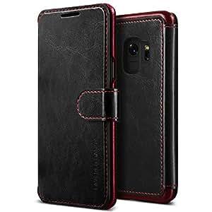 samsung galaxy s9 case vrs design leather wallet phone. Black Bedroom Furniture Sets. Home Design Ideas