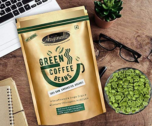 Ariginallo Green Coffee Beans for Weight Loss 350 G ...