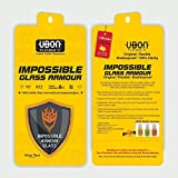 Ubon Premium Tempered Glass Screen Protector Guard for Apple iPhone 6 / Apple iPhone 6S / Mobile Accessories/ Screen Protectors with Free one time screen cleaning kit