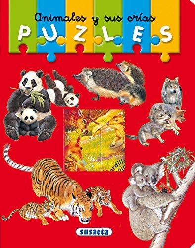 Animales y sus crías (Mi primer libro de puzles) por Unknown.