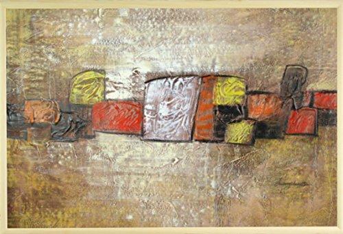 dans-le-milieu-var-9-peinture-a-lhuile-sur-toile-60-x-90-cm-61-x-914-cm-encadree-en-brown-gold-cadre
