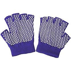 Con palmas y dedos antideslizantes , color púrpura