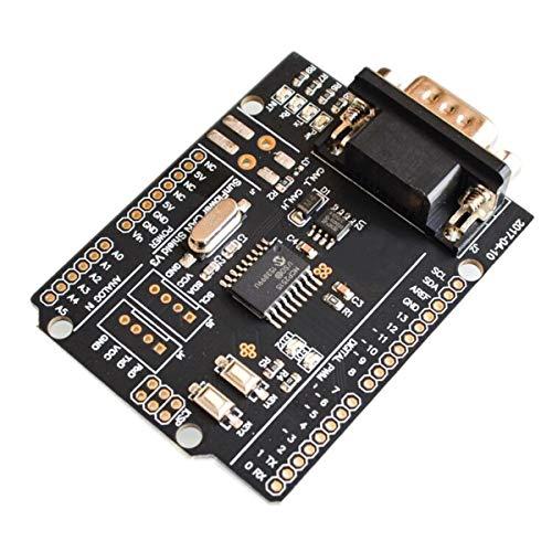 SPI MCP2515 EF02037 CAN-Bus Shield Controller-Kommunikationsplatte, Schwarz 29-bit-interface