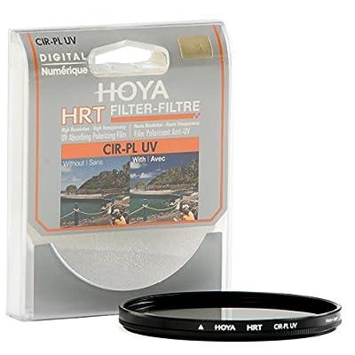 Hoya 62mm Circular Polarizing and HRT Screw-in Filter