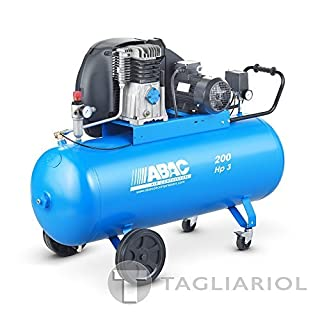 ABAC PRO A39B 200CT3Professional-200L Compressed Air Motor 3HP Compressor