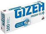 1000 (10x100) GIZEH Fresh CliQ (Hülsen, Filterhülsen, Zigarettenhülsen)