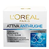 L'Oréal Paris Ricarica Attiva Anti-Rughe Crema Viso Idratante Prime Rughe - 50 ml