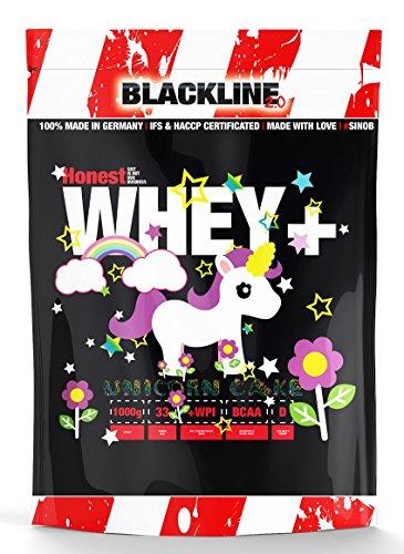 #sinob Honest Whey+ 12,5{4cf3ef2b2e5cab9957c7370d2780f3ad4824df514a378b9bbfc3f324534ccdc6} Garantierter Isolatanteil. Premium Molkenprotein Mit EAA. Proteinshake Für Muskelaufbau, Fitness, Kraftsport, Bodybuilding. 1 x 1000 g (Unicorn Cake)