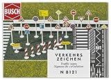 Busch - Modellismo ferroviario, Set di cartelli segnaletici, scala N