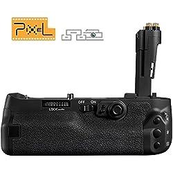 Pixel BG-E16 Batterie Grip Poignée d'alimentation pour Canon EOS 7D Mark II Appareil photo reflex numérique , Remplacement pour Canon E16