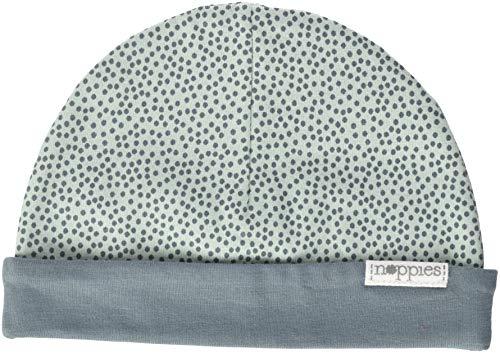 Hut, Mütze, Mint (Noppies Unisex Baby U Hat rev Babylon Mütze, Grün (Grey Mint C175), One Size (Herstellergröße: 0M-3M))