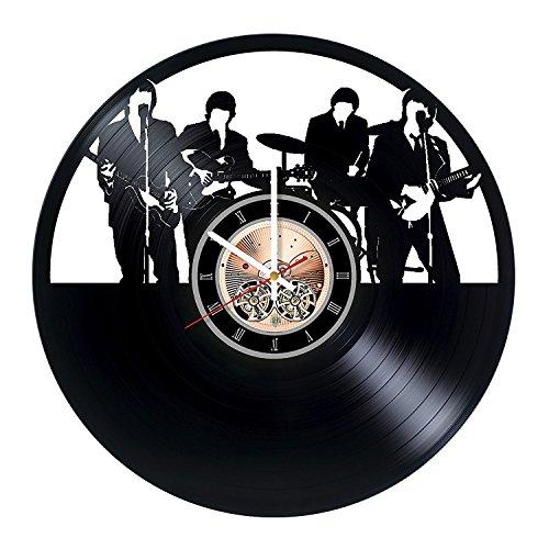 choma The Beatles Vinyl Schallplatte Wanduhr-Home Zimmer Wand Decor-Geschenk Ideen für Erwachsene, Jugendliche, Mutter-Einzigartige Art Design