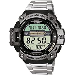 Casio Collection Reloj Digital para Hombre con Correa de Acero Inoxidable – SGW-300HD-1AVER