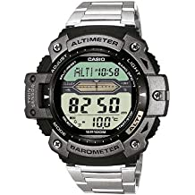 Casio Collection – Reloj Hombre Digital con Correa de Acero Inoxidable – SGW-300HD-1AVER