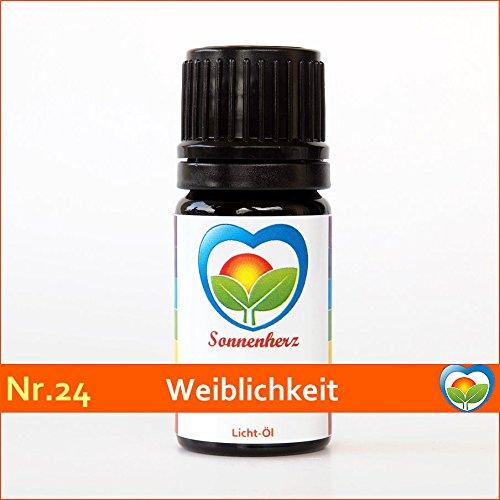 Feinstoffliches & Sonnen-energetisches Öl Nr. 24 WEIBLICHKEIT - Informierte Ölmischung, Lichtöl von Sonnenherz