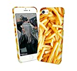 French Fries Yummy Tasty Junk Food iPhone 6 7 8 X Galaxy Note 8 Huawei Schutzhülle aus Hartplastik Hard Plastic Handy Hülle