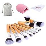 eBasic 11 pc spazzola di trucco - Pennelli trucco naturale - Cosmetici Strumenti -...