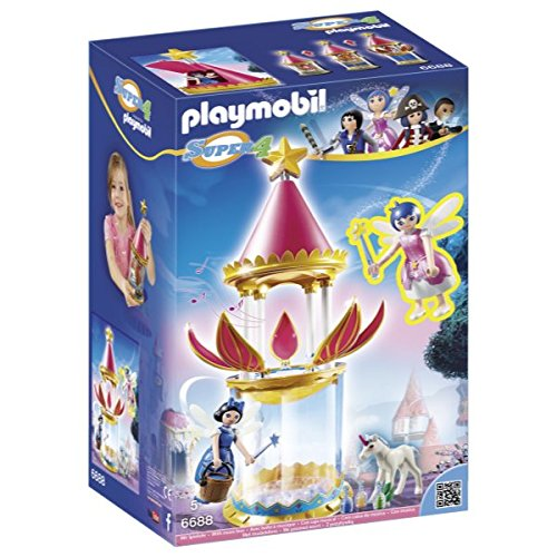PLAYMOBIL - Torre Flor mágica Caja Musical Twinkle