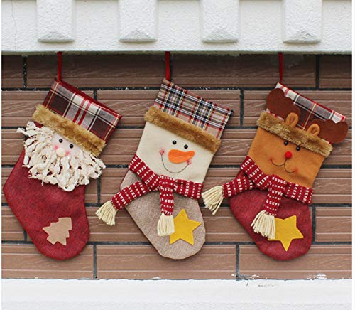 Zahlen Dekoration Langbeinige Geschenktüten Dekoration Socken Süßigkeiten Geschenk Wanddekor DIY Malerei Auf Leinwand Für Wohnkultur ()