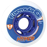Hyper Formula G Era ruedas Juego de 42016White/Blue, unisex, 72mm/72A