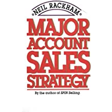 Major Account Sales Strategy (Marketing/Sales/Advertising & Promotion)